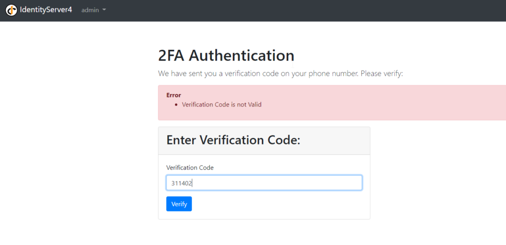 2FA In Action