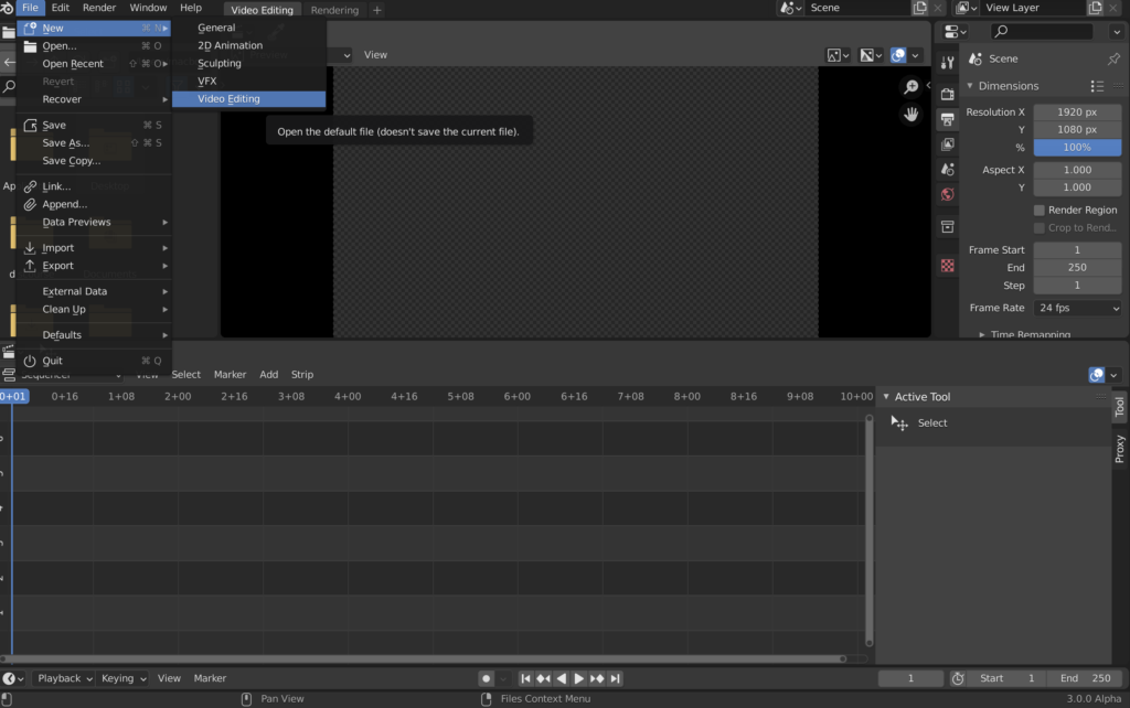open source video editing software
