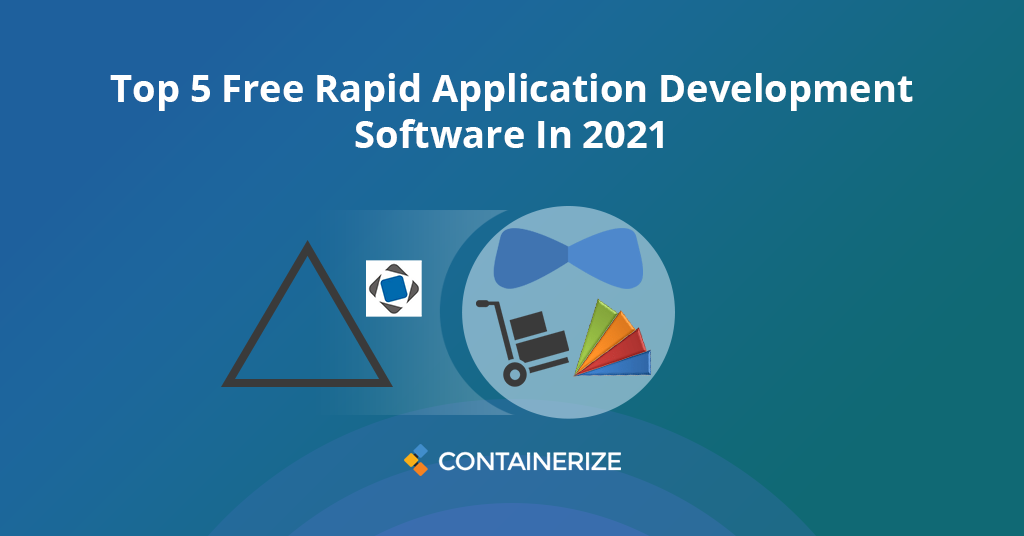 rapid application development software