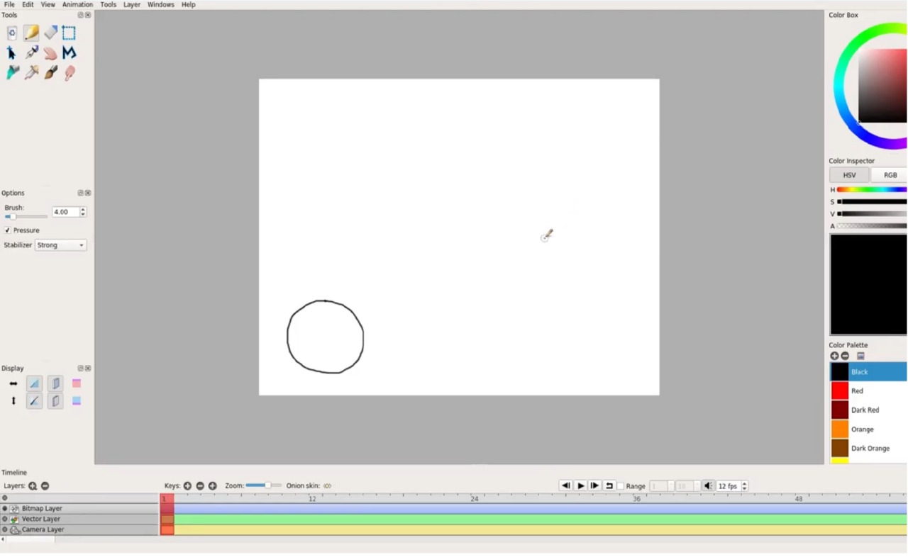 Create Animations With Pencil2D Animation Software