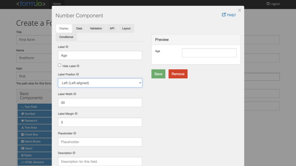 bootstrap form creator