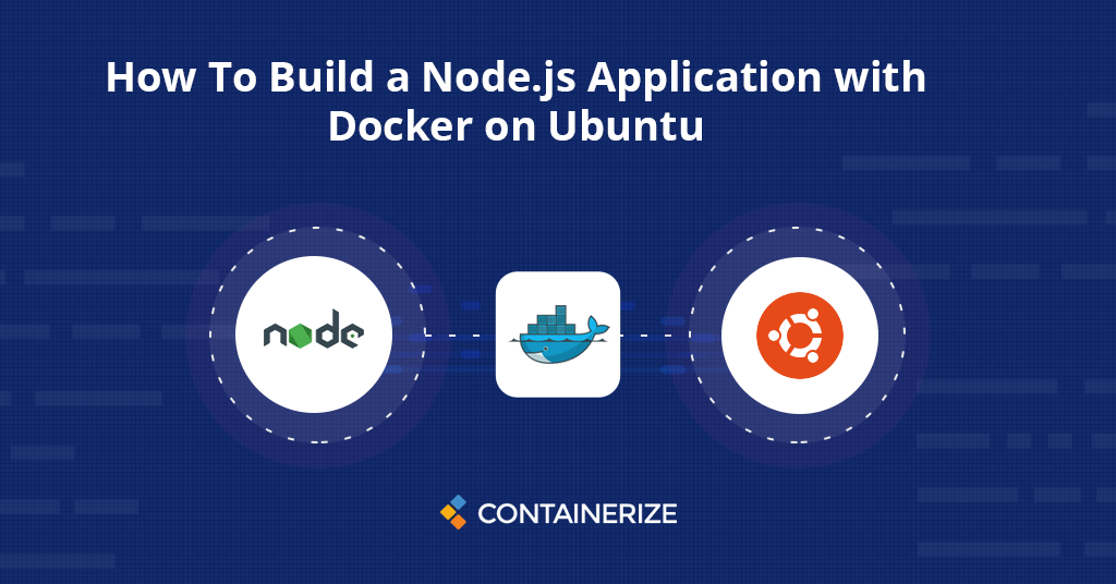 how to build nodejs application with docker